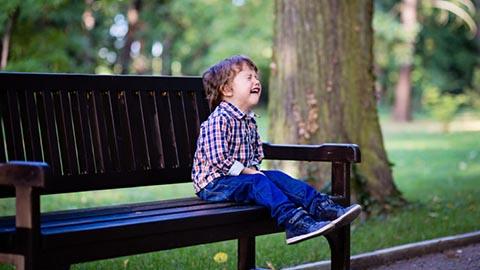 rabieta berrinche parque